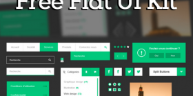 Green UI Kit