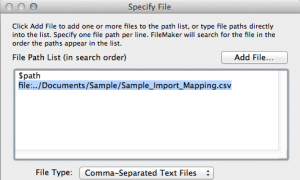 Import Mapping Picture
