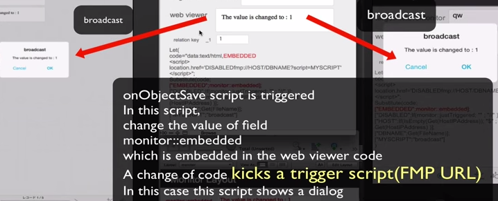 Change one value to trigger a script