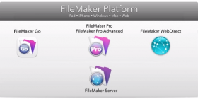 FileMaker Product lineup