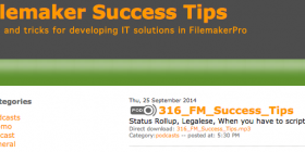 FileMaker Success Tips 316