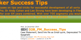 FileMaker Success tips 328
