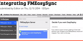 Integrating FMEasySync via FMRecipes