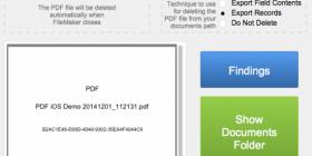 Setup for saving to a pdf on iOS