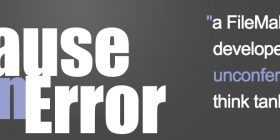 Pause on error logo