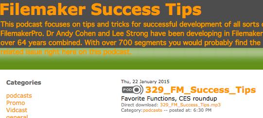 FileMaker Success Tips 329 details