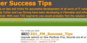 FileMaker Success Tips 331