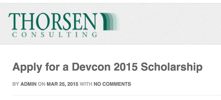 Free Devcon Pass