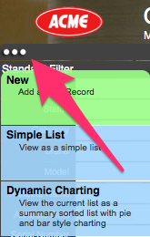 3 dots menu example