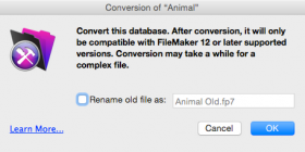 FileMaker Conversion image