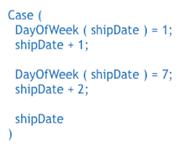 Day of Week calculation