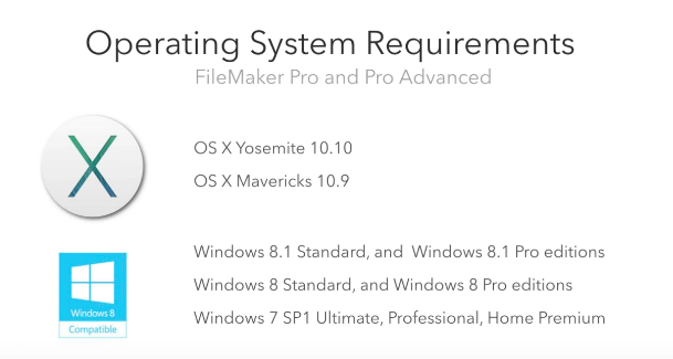 Client Operating System Requirements