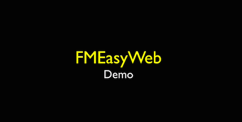 FMEasyWeb Demo