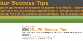 FileMaker Success Tips 351