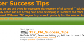 FileMaker Success Tips 352