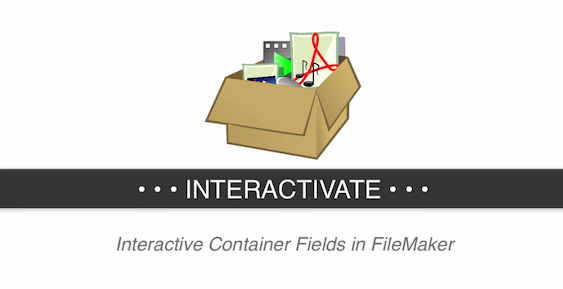 Interactive Containers in FileMaker