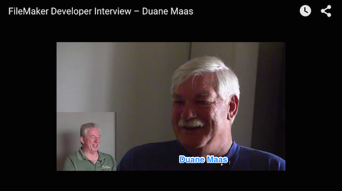 FileMaker Developer Interview – Duane Maas
