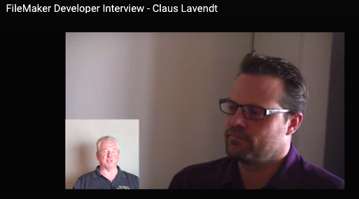 FileMaker Developer Interview - Claus Lavendti