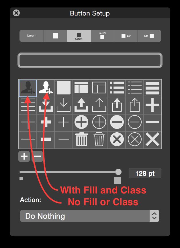 FileMaker SVG Buttons
