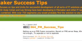 FileMaker Success Tips 364