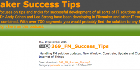 Filemaker Success Tips 369