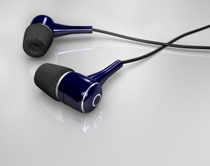 Ear plugs for listening instead of reading