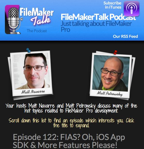 FileMaker iOS App SDK
