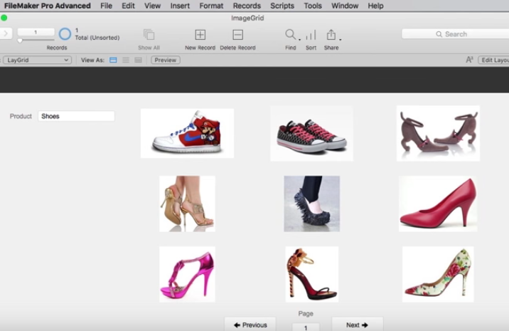 Image Grid in FileMaker
