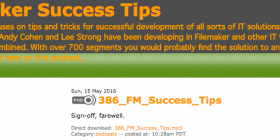 Filemaker Success Tips 386