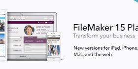 FileMaker 15 Platform Banner