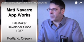 FileMaker Developer Interview-Matt Navarre