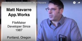 FileMaker Developer Interview-Matt Navarre