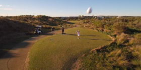 Golfing for Drones