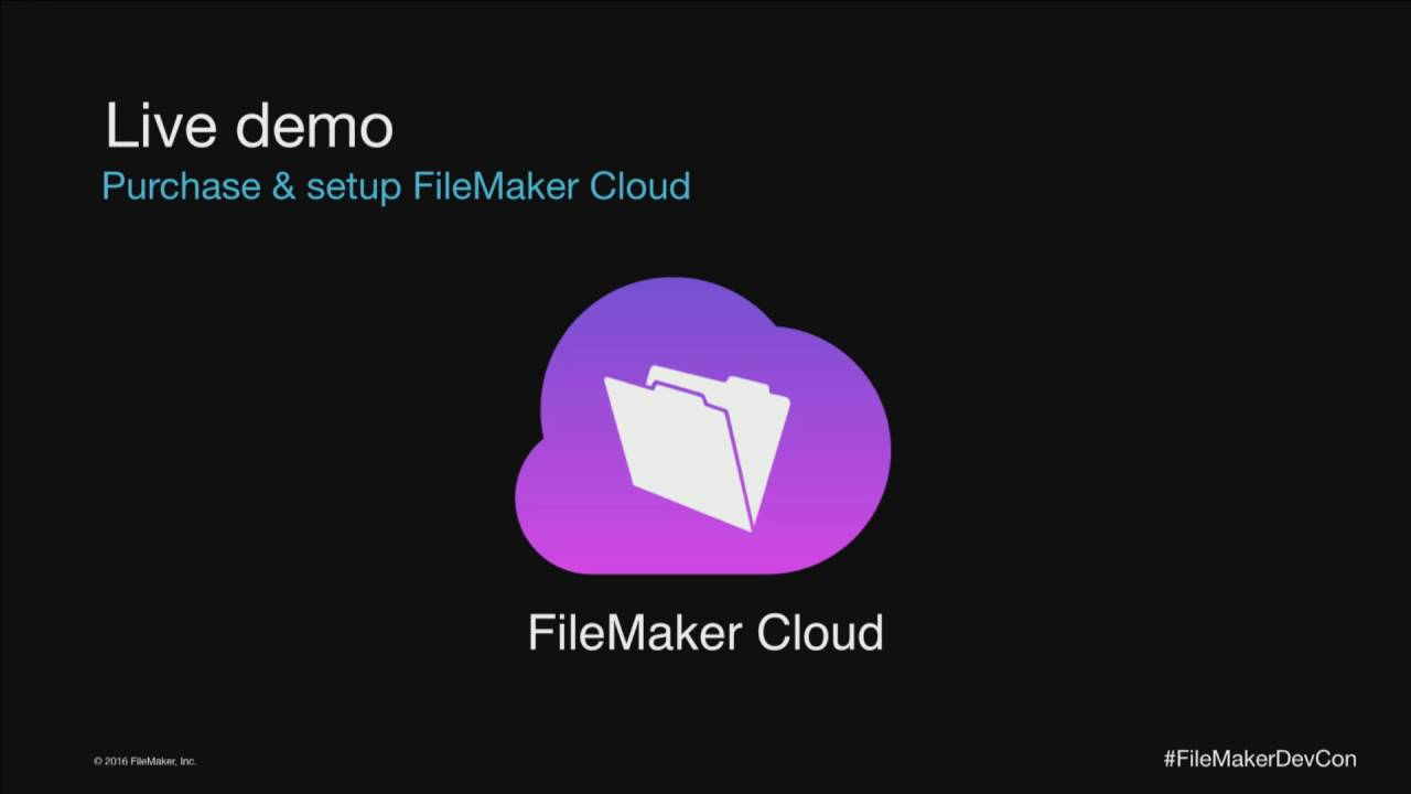 FileMaker Cloud on Amazon- YouTube