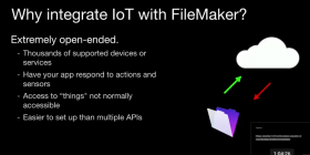 The FileMaker of Things
