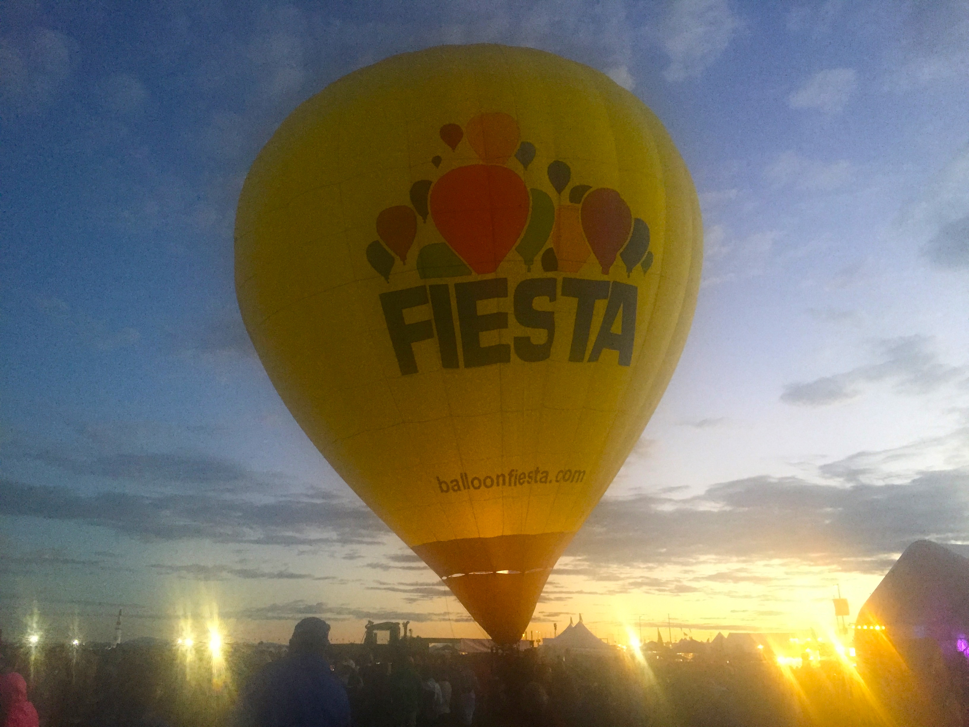 The Balloon Fiesta Balloon