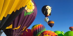 Balloon Fiesta in Albuquerque