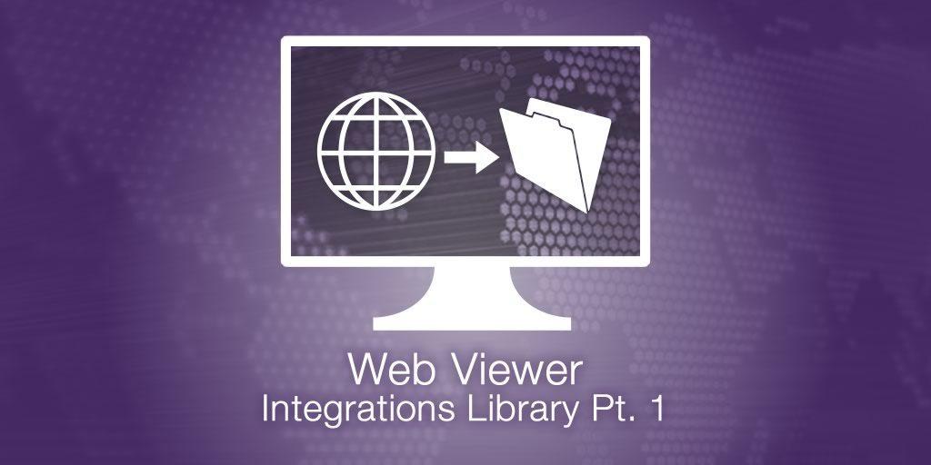 WebViewer Integration Library