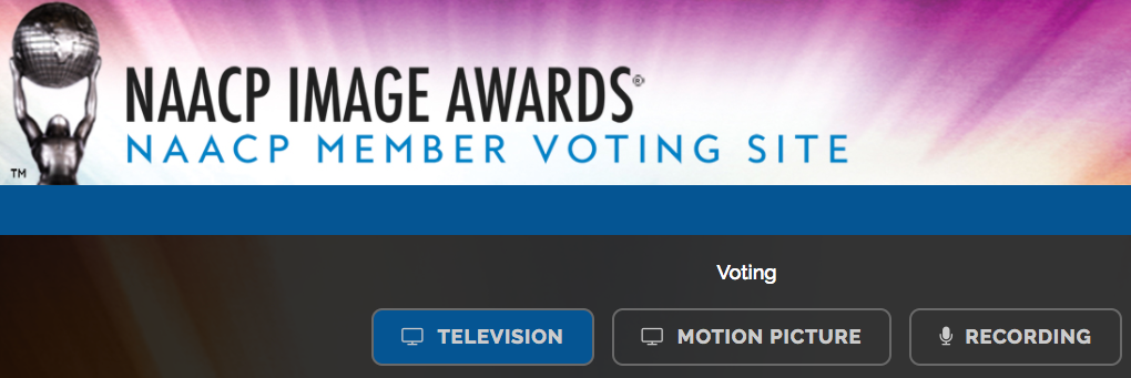 Vote for NAACP Image Awards and Entertainer of the Year