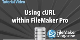 Learn to Use cURL and FileMaker Pro