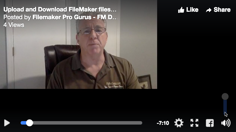 Upload and Download FileMaker files using WordPress