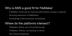 FileMaker and Amazon Web Services