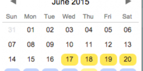 soSIMPLE Calendar