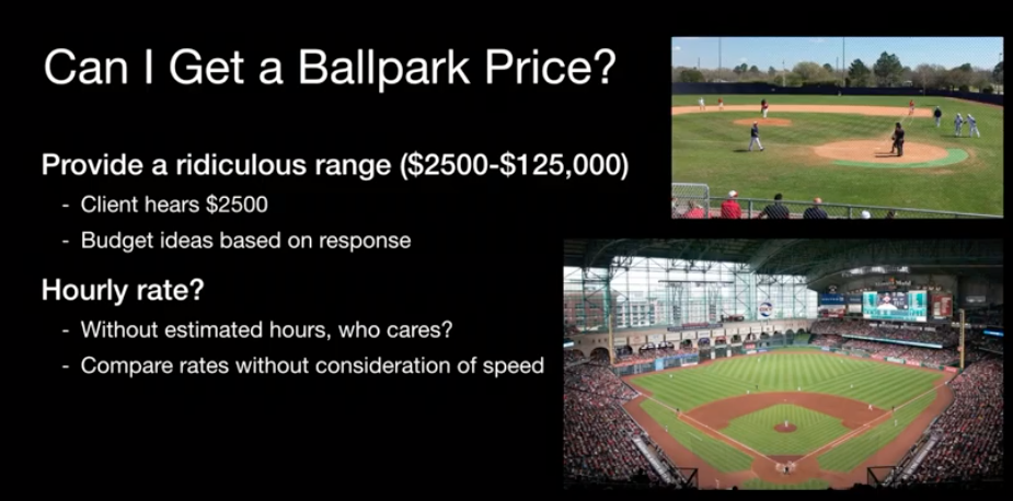 Can I get a ballpark price?