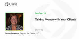 DevCon 2019 – Talking Money with Your Clients