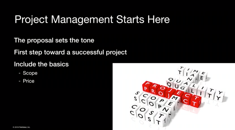 Project Management Starts Here